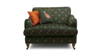 Ilkley Velvet Cuddler Sofa
