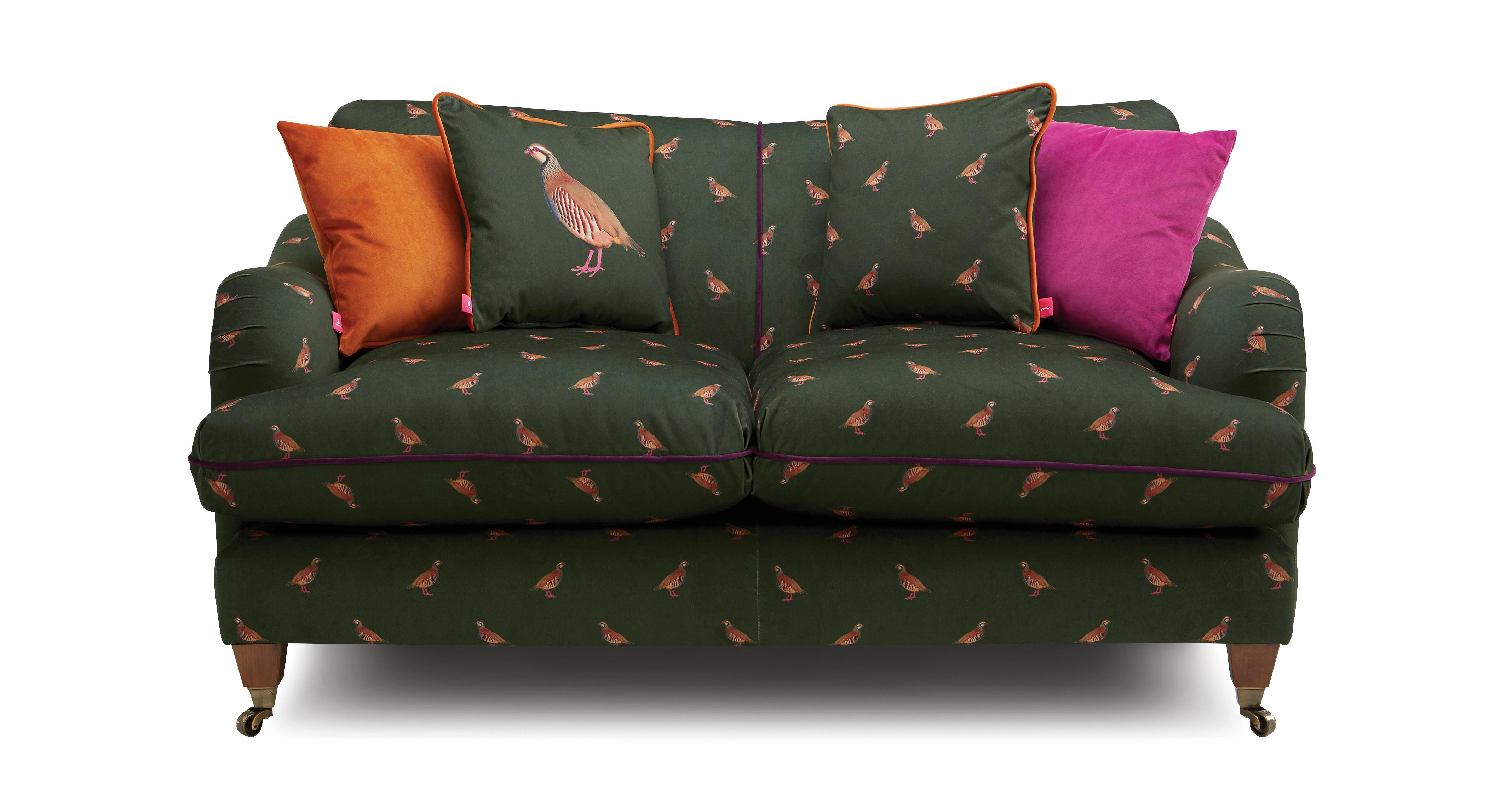 Ilkley Velvet 2 Seater Sofa Peter Partridge Dfs
