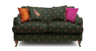 Ilkley Velvet 2 Seater Sofa