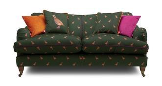 Ilkley Velvet 3 Seater Sofa