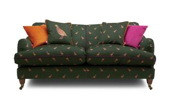 Velvet 3 Seater Sofa Peter Partridge