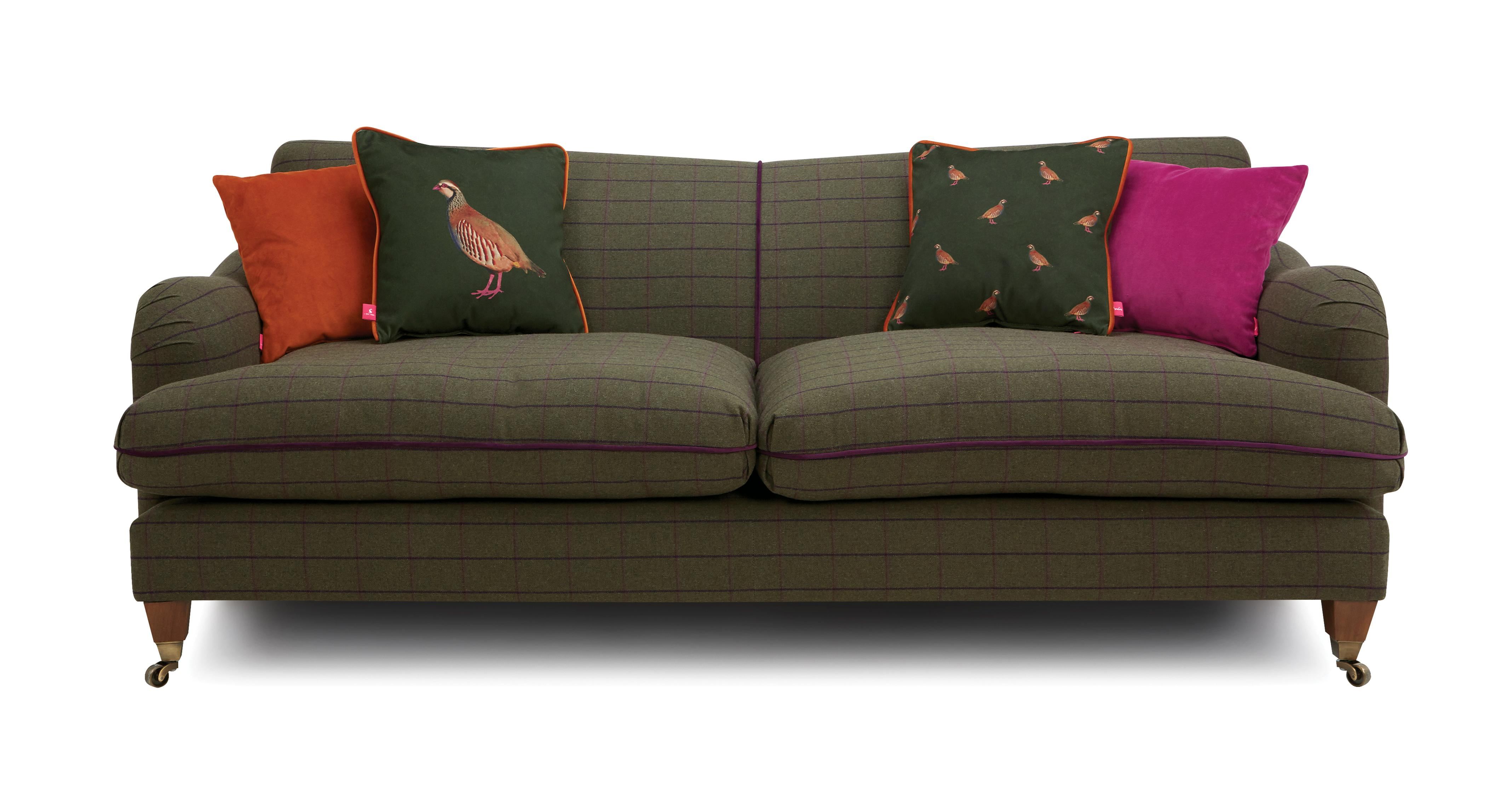 Ilkley Tweed 4 Seater Sofa Heritage Tweed Dfs