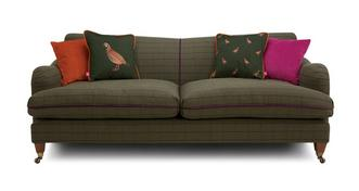 Ilkley Tweed 4 Seater Sofa