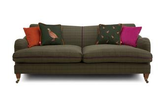 Tweed 4 Seater Sofa Heritage Tweed
