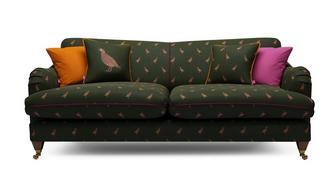 Ilkley Velvet 4 Seater Sofa