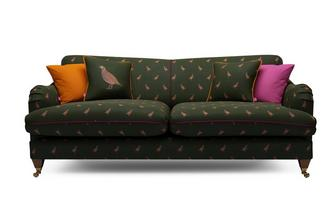 Velvet 4 Seater Sofa Peter Partridge
