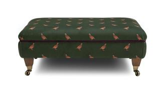 Ilkley Partridge Footstool