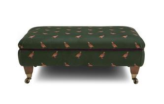 Partridge Footstool