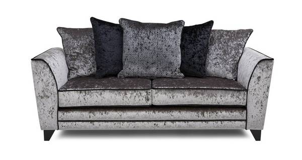 Illumino 3 Seater Pillow Back Sofa