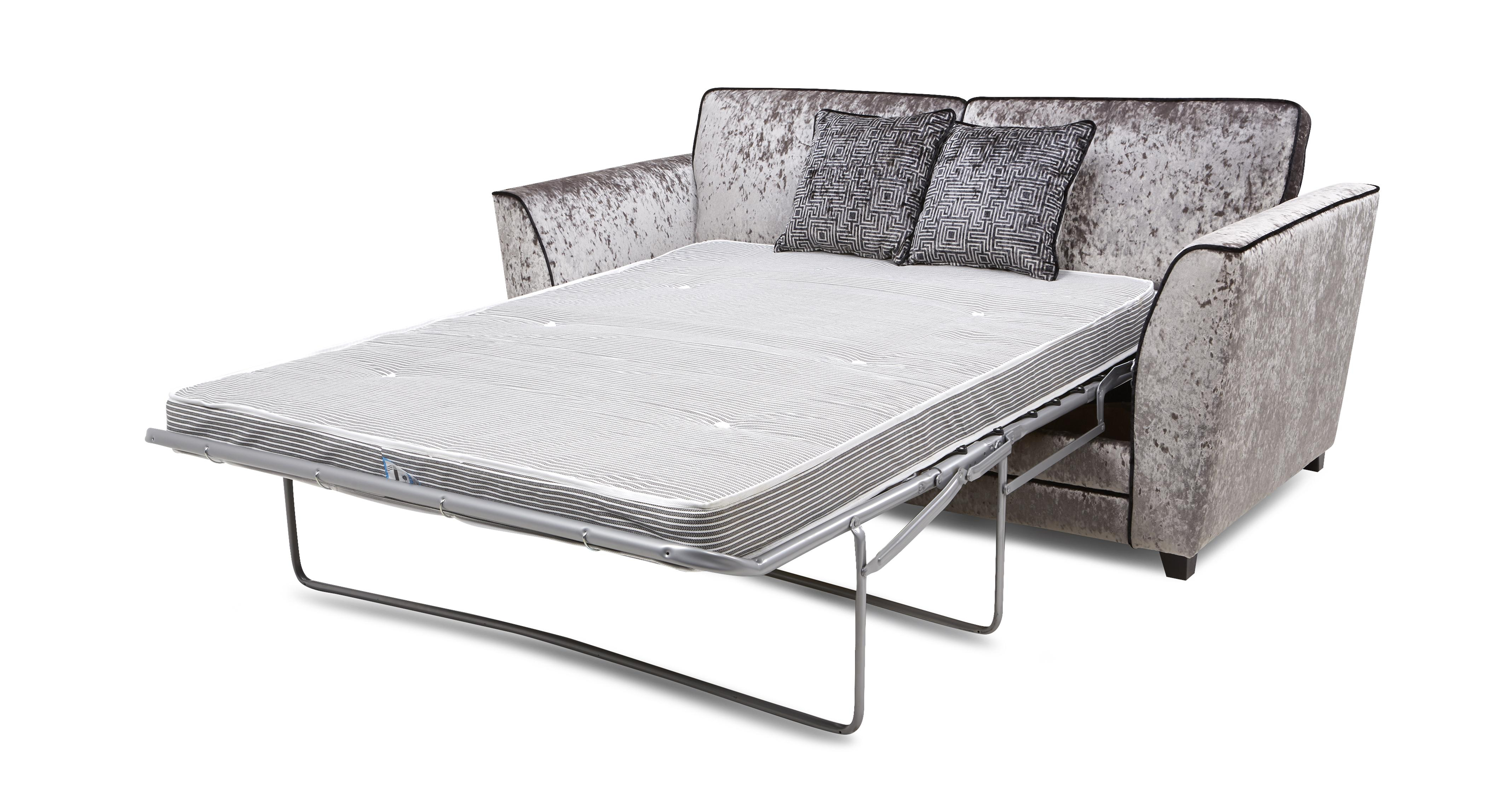 Illumino 3 Seater Formal Back Deluxe Sofa Bed