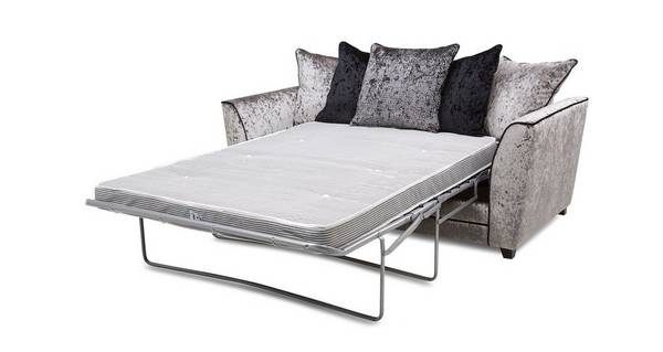 Illumino 3 Seater Pillow Back Deluxe Sofa Bed