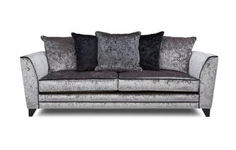 4 Seater Pillow Back Sofa Illumino