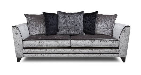 Illumino 4 Seater Pillow Back Sofa