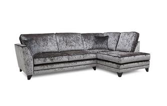 Left Hand Facing Arm Formal Back Corner Sofa
