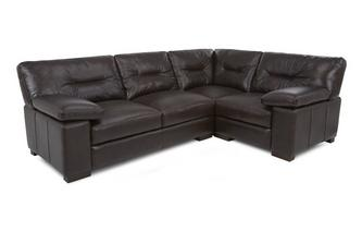 Left Hand Facing 2 Seater Corner Sofa Capri