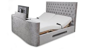 Impulse King Adjustable TV Bed & Mattress