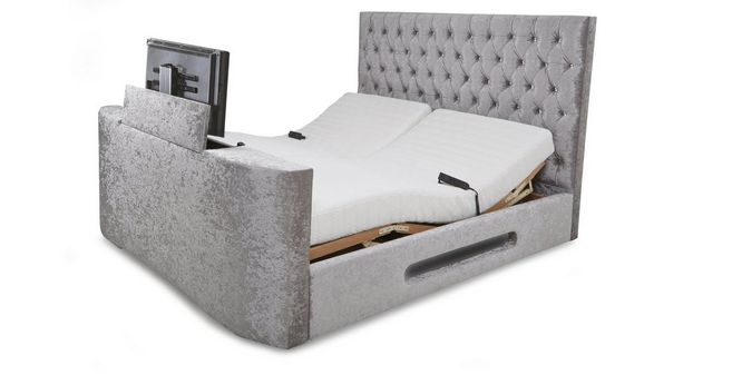 Impulse King Adjustable TV Bed & Mattress | DFS