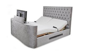 King Size (5 ft) Adjustable TV Bed & Mattress Impulse