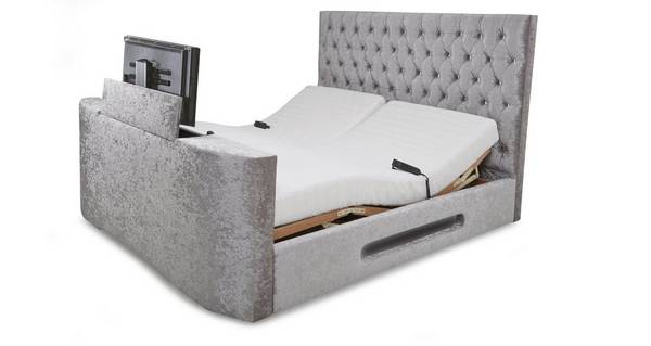 Impulse King Size (5 ft) Adjustable TV Bed & Mattress