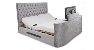 Impulse Super King Size (6 ft) Adjustable TV Bed & Mattress