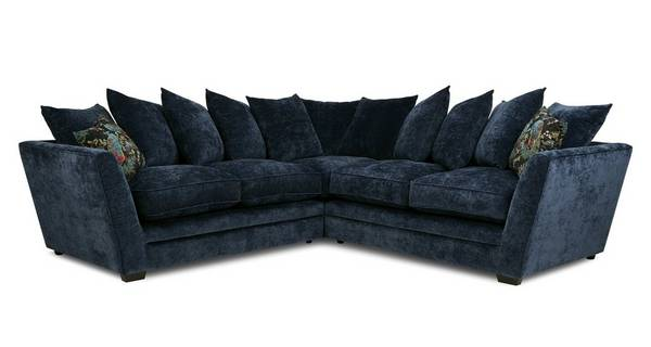 Indigo 2 Corner Sofa Dame Plain Dfs, L Shape Sofas Dfs