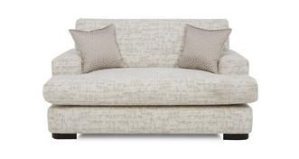 Indulge Formal Back Cuddler Sofa