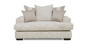 Indulge Pillow Back Cuddler Sofa