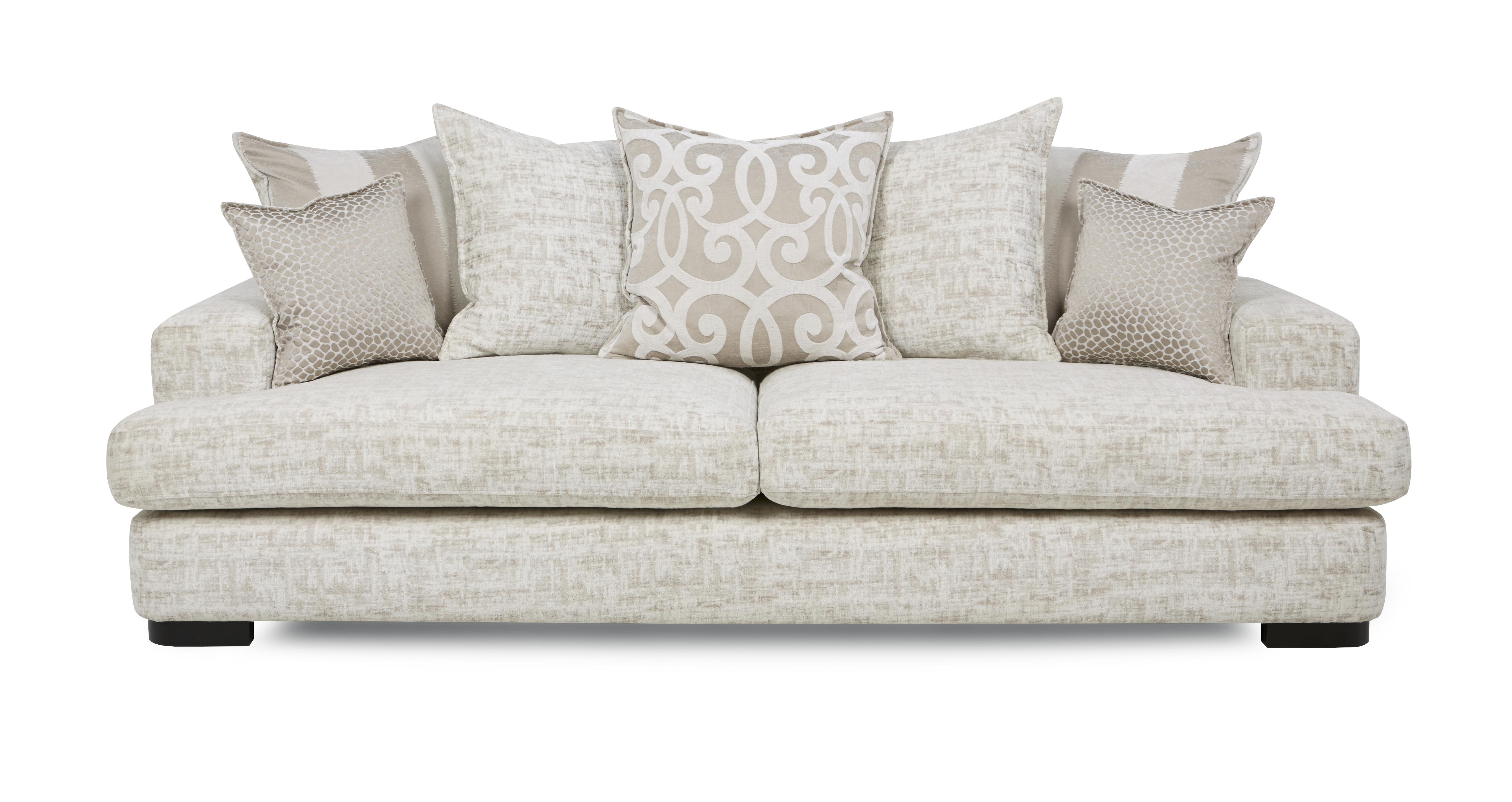 indulge  seater pillow back sofa  dfs -   °