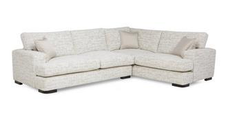 Indulge Left Hand Facing 3 Seater Formal Back Corner Sofa