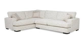 Indulge Right Hand Facing 3 Seater Formal Back Corner Sofa