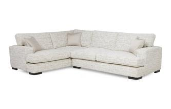 Right Hand Facing 3 Seater Formal Back Corner Sofa Indulge