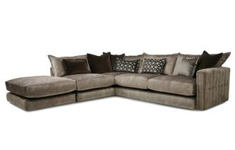 Right Hand Facing Arm 4 Piece Corner Sofa