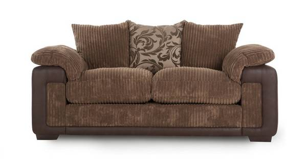 Infinity 2 Seater Pillow Back Deluxe Sofa Bed