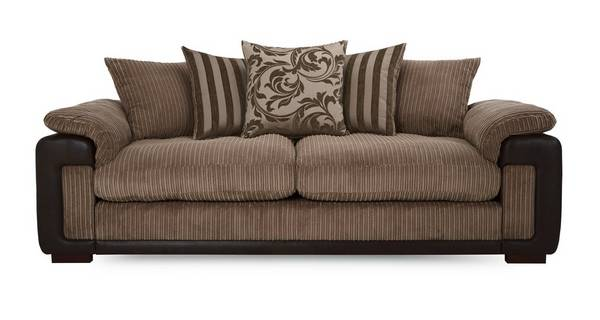 Infinity 4 Seater Pillow Back Sofa
