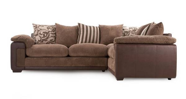 Infinity Left Hand Facing Pillow Back Corner Sofa