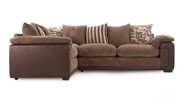 Infinity Right Hand Facing Pillow Back Corner Sofa