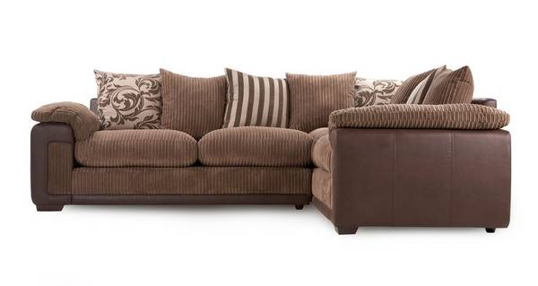 Infinity Left Hand Facing Pillow Back Corner Deluxe Sofa Bed