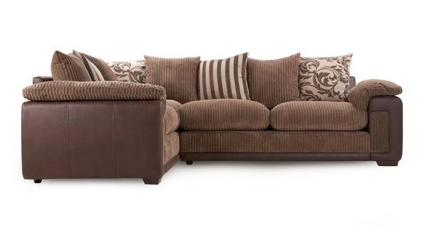 Infinity Right Hand Facing Pillow Back Corner Deluxe Sofa Bed