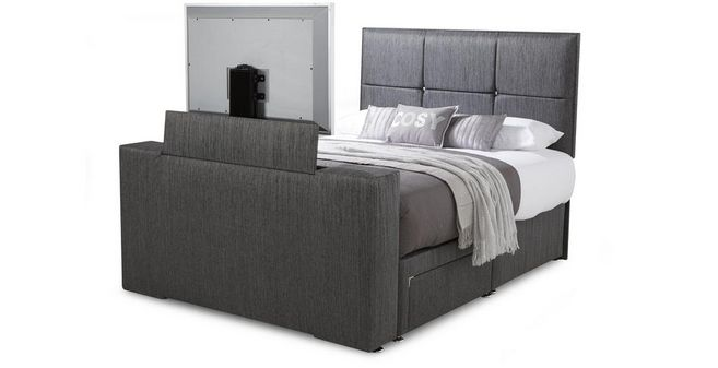Inspire Double 2 Drawer TV Bed | DFS Ireland