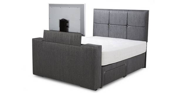 Inspire Double (4ft 6) 2 Drawer TV Bed