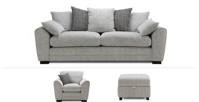 Phenomenal Jackson Clearance 4 Seater Sofa Chair Stool Ibusinesslaw Wood Chair Design Ideas Ibusinesslaworg