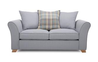 2 Seater Pillow Back Sofa Bed Jasper