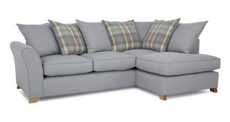 Jasper Left Arm Facing Pillow Back Corner Deluxe Sofa Bed