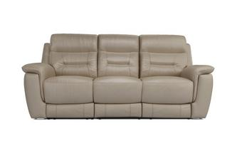 Jenson 3 Seater Electric Recliner Premium