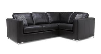 Jimmi Left Hand Facing 2 Seater Deluxe Corner Sofa Bed
