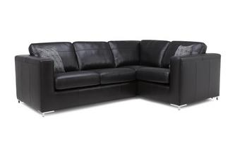 Left Hand Facing 2 Seater Deluxe Corner Sofa Bed Brooke