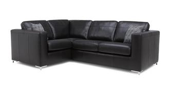 Jimmi Right Hand Facing 2 Seater Deluxe Corner Sofa Bed