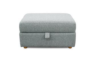 Large Storage Footstool