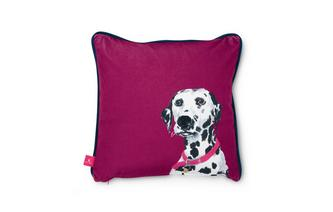 Daisy-Dalmation Small Scatter Cushion