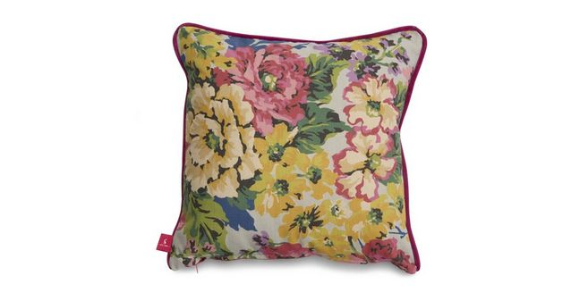 joules scatters floral cotton small scatter cushion floral cotton dfs